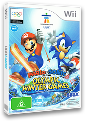Mario & Sonic at the Olympic Winter Games Wii cover (ROLP8P)