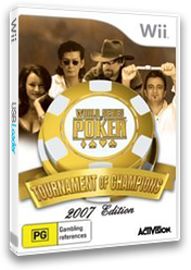 World Series of Poker: Tournament of Champions 2007 Edition Wii cover (RPKP52)