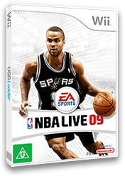 NBA Live 09 All-Play Wii cover (RQ9P69)