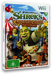 Shrek's Carnival Craze Party Games Wii cover (RRQP52)
