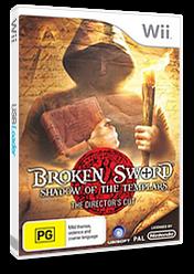 Broken Sword: Shadow of the Templars - The Director's Cut Wii cover (RSJP41)