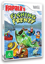 Rapala Fishing Frenzy Wii cover (RTBP52)
