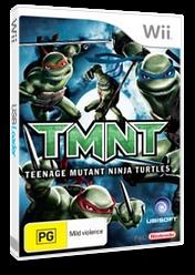 TMNT: Teenage Mutant Ninja Turtles Wii cover (RTMP41)