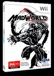 MadWorld Wii cover (RZZP8P)