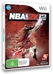 NBA 2K12 Wii cover (S2QP54)