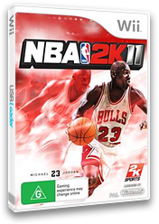 NBA 2K11 Wii cover (SB5P54)