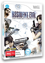 Resident Evil: The Darkside Chronicles Wii cover (SBDP08)
