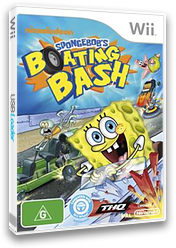 SpongeBob's Boating Bash Wii cover (SBVP78)