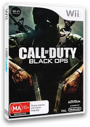Call of Duty: Black Ops Wii cover (SC7D52)