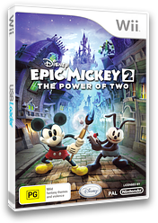 Disney Epic Mickey 2: The Power of Two Wii cover (SERP4Q)