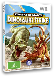 Combat of Giants: Dinosaurs Strike Wii cover (SGXP41)