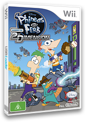 Phineas and Ferb: Across the 2nd Dimension Wii cover (SMFP4Q)