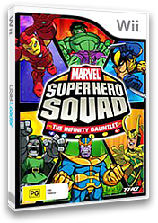 Marvel Super Hero Squad:The Infinity Gauntlet Wii cover (SMSP78)