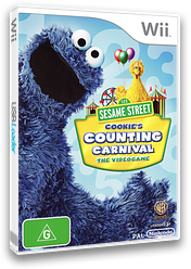Sesame Street: Cookie's Counting Carnival Wii cover (SS4UWR)