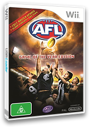 AFL Live: Game of the Year Edition Wii cover (SS6UHS)