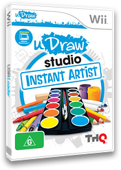 uDraw Studio:Instant Artist Wii cover (SUUP78)