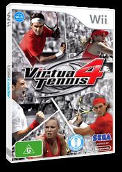 Virtua Tennis 4 Wii cover (SV4P8P)