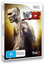 WWE '12 Wii cover (SW6P78)