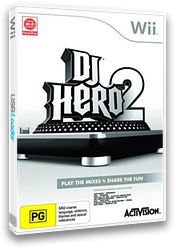 DJ Hero 2 Wii cover (SWBP52)