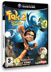 Tak 2: The Staff of Dreams GameCube cover (G2FD78)