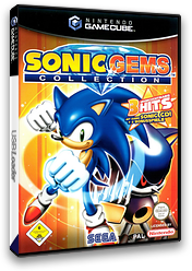 Sonic Gems Collection GameCube cover (G2XP8P)