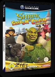 Shrek Smash n' Crash Racing GameCube cover (G4IP52)
