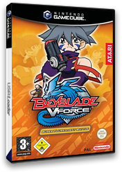 Beyblade VForce - Super Tournament Battle GameCube cover (GBTP70)