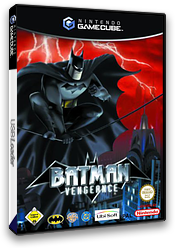 Batman Vengeance GameCube cover (GBVP41)