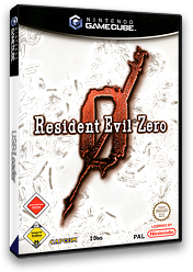 Resident Evil Zero GameCube cover (GBZP08)