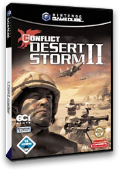 Conflict: Desert Storm II: Back to Baghdad GameCube cover (GC2P75)