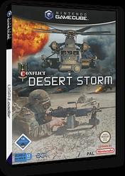 Conflict: Desert Storm GameCube cover (GCFP75)