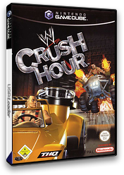 WWE Crush Hour GameCube cover (GCHP78)