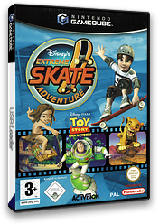 Disney's Extreme Skate Adventure GameCube cover (GEXX52)