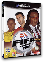 FIFA Football 2003 GameCube cover (GFAD69)