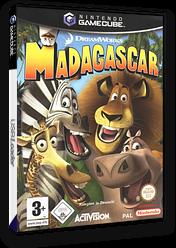 Madagascar GameCube cover (GGZX52)
