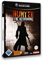 Hunter: The Reckoning GameCube cover (GHNX71)