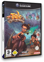 Tak: The Great JuJu Challenge GameCube cover (GJWP78)