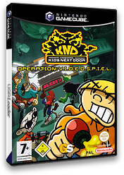Codename: Kids Next Door - Operation: V.I.D.E.O.S.P.I.E.L. GameCube cover (GKZD54)