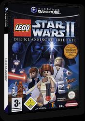 LEGO Star Wars II:Die klassische Trilogie GameCube cover (GL7P64)