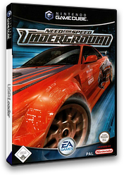Need for Speed: Underground GameCube cover (GNDD69)