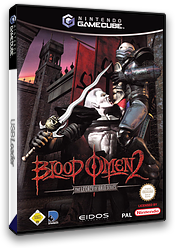 Blood Omen 2: The Legacy of Kain Series GameCube cover (GO2D4F)