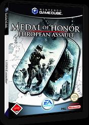Medal of Honor: European Assault GameCube cover (GOND69)