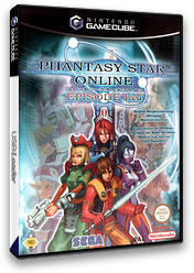 Phantasy Star Online Episode I&II GameCube cover (GPOP8P)