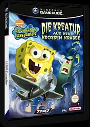 SpongeBob Schwammkopf: Die Kreatur aus der krossen Krabbe GameCube cover (GQ4D78)