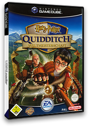 Harry Potter: Quidditch - Weltmeisterschaft GameCube cover (GQWX69)