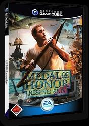 Medal of Honor: Rising Sun GameCube cover (GR8D69)