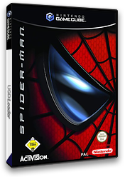 Spider-Man GameCube cover (GSMP52)