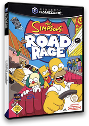 The Simpsons: Road Rage GameCube cover (GSPP69)