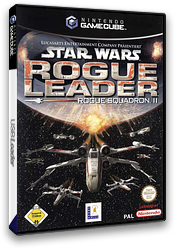 Star Wars Rogue Leader: Rogue Squadron II GameCube cover (GSWD64)