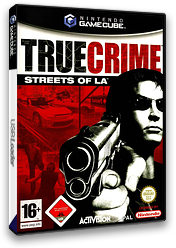 True Crime: Streets of LA GameCube cover (GTLX52)